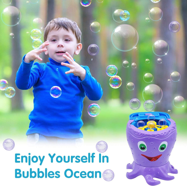 Fuente De Burbuja Extrema Azul Máquina De Burbujas-Cumpleaños Infantil-Día de Juego