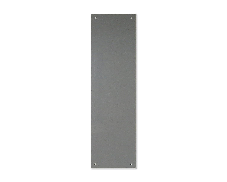 Plaque de porte Plastique Blanc Vis gratuites 11 couleurs