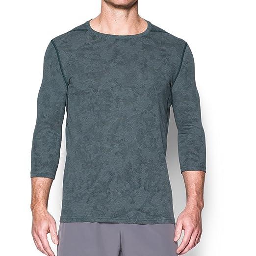 d342c3bcc3 Under Armour Men's Threadborne Fitted ¾ Utility Sleeve Shirt