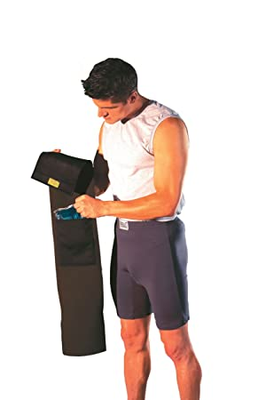 bf923f685e3 Everlast Slimmer Belt With Hot Cold Therapy Gel Pack  Amazon.co.uk ...