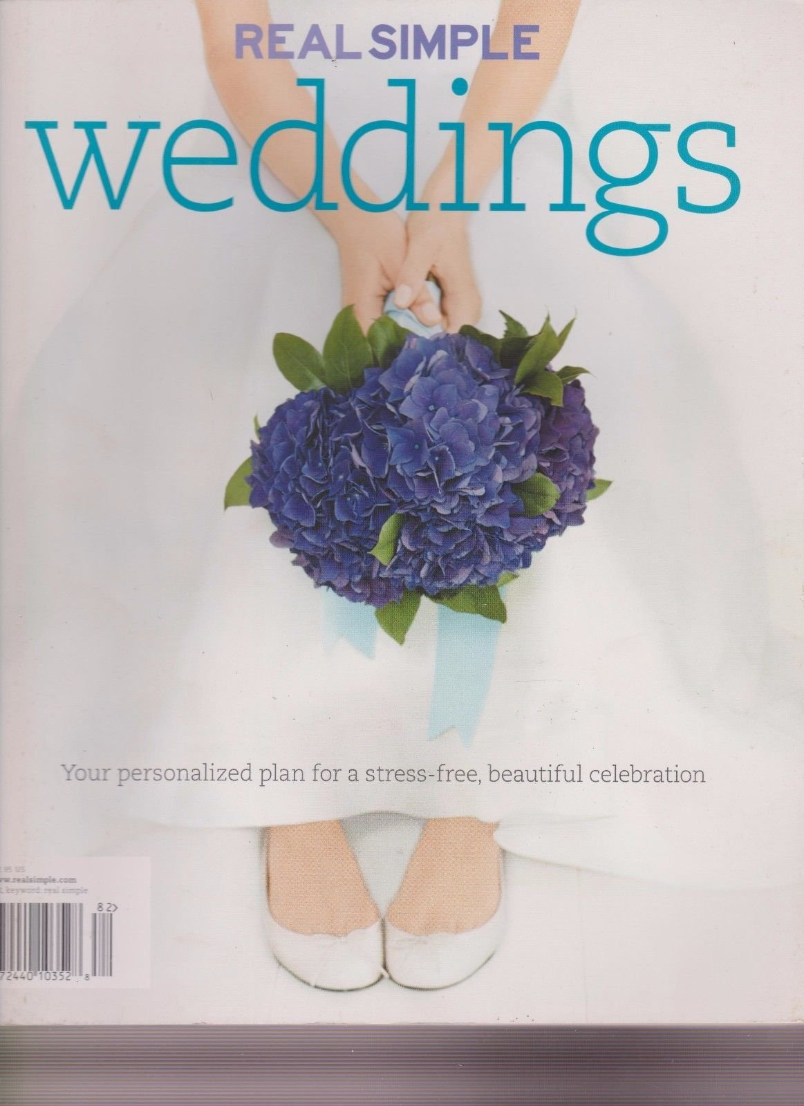 REAL SIMPLE WEDDINGS MAGAZINE 2008, YOUR GUIDE TO PLANNING WEDDING, NEW NO LABEL