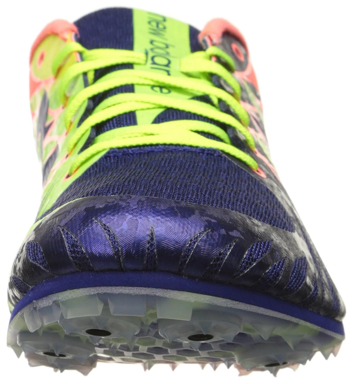 New Balance Women's WWM500V4 Track Spike Shoe, Blue/Pink, 11 B US