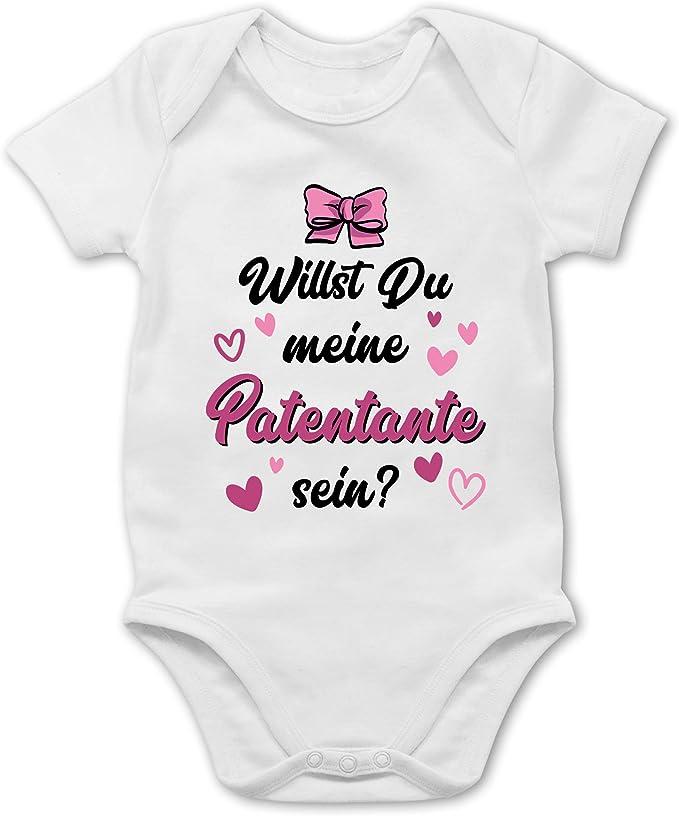 Spr/üche Kind Ich Habe eine verr/ückte Patentante lila M/ädchen Kinder T-Shirt Shirtracer