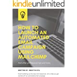 How to launch an automated email campaign using Mailchimp.: Including professional tips and tricks. (Email Marketing Using Ma