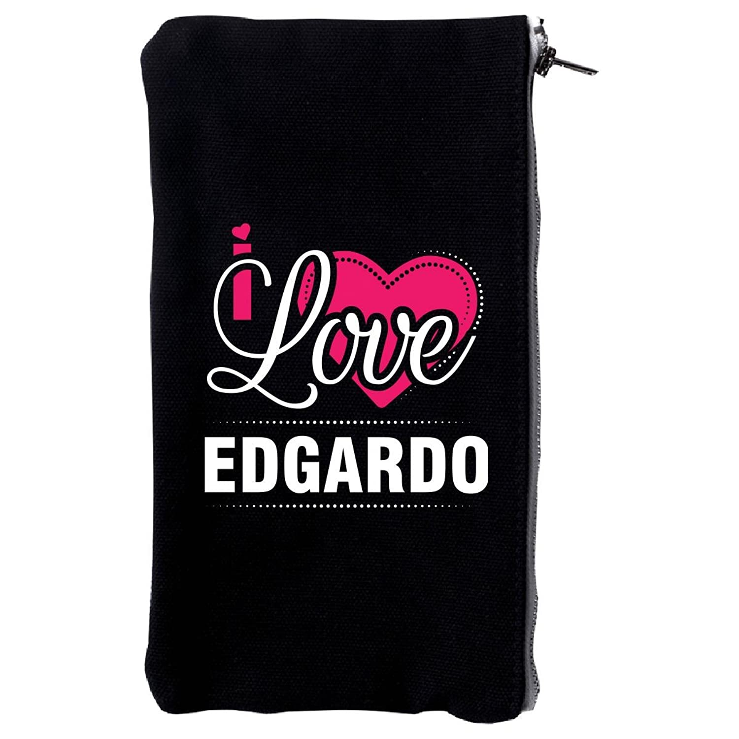 I Love Edgardo - Cool Gift For Edgardo From Girlfriend - Make Up Case