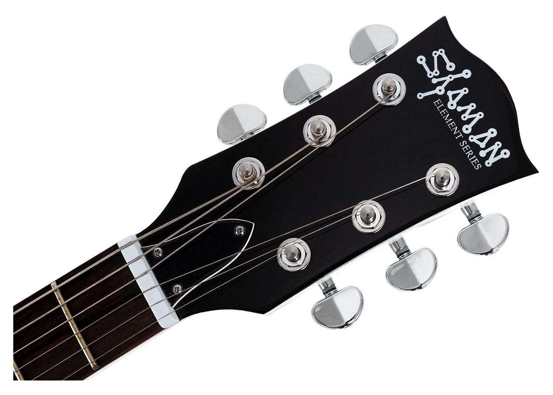 Guitarra Eléctrica Shaman Element Series SCX-100W Blanca: Amazon.es: Instrumentos musicales