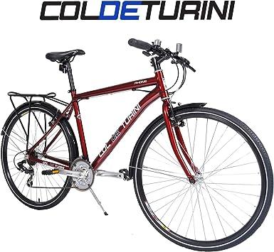 Col de Turini bicicleta 700c bicicleta para ir en bicicleta - rojo Unisex ...