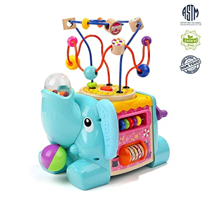 Amazon.com: Juguetes de cubo de actividades brillantes ...