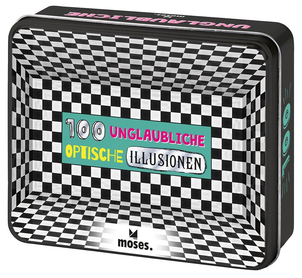 100 neue optische Illusionen: DEN SINNEN EIN SCHNIPPCHEN SCHLAGEN (Alemán) Juguete – 8 ago 2018 Britta Waldmann Moses. Verlag Gmbh 3897776057 6050