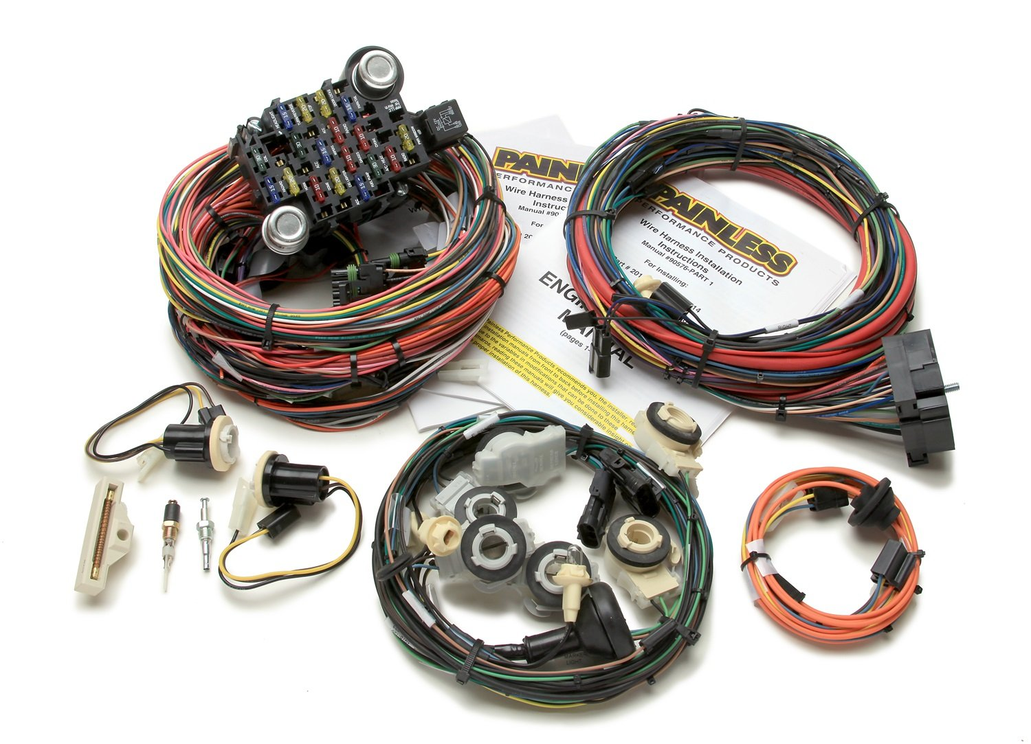 Led Wiring Harness Painless Library John Deere 5105 Diagram Amazoncom 20114 Automotive