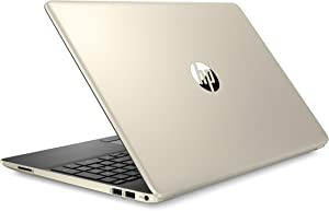 HP Pavilion 2019 15.6 HD LED Laptop Notebook Computer PC, Intel I5-8265U, 8GB DDR4 RAM, 256GB PCIe Nvme SSD, USB 3.1, USB-C, Bluetooth, Webcam, Wi-Fi, Fast Charging, Windows 10 Home, Gold (Renewed)