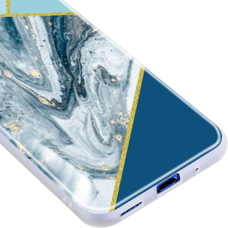 Honor 20 Handyh/ülle Docrax Huawei nova 5T DOQXU010581 D5 Marmor Silikon H/ülle Sto/ßd/ämpfend Anti-Scratch Soft Cover Schutz Tasche Schutzh/ülle f/ür Huawei nova 5T