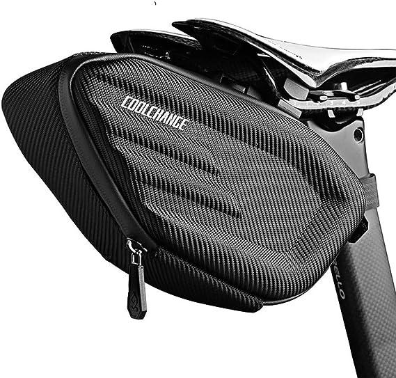 ToomLight sill/ín de Bicicleta Impermeable MTB Bike Trasero Bolsa Reflectante Ciclismo Asiento Trasero Cola Bolsa Grande Accesorios para Bicicletas