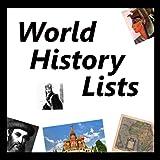 World History Lists
