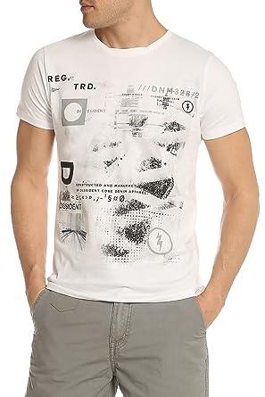 244c5aabc11 Dissident Men s Graphic Print t-Shirt Short Sleeve Cotton top 1C-9051  Convex