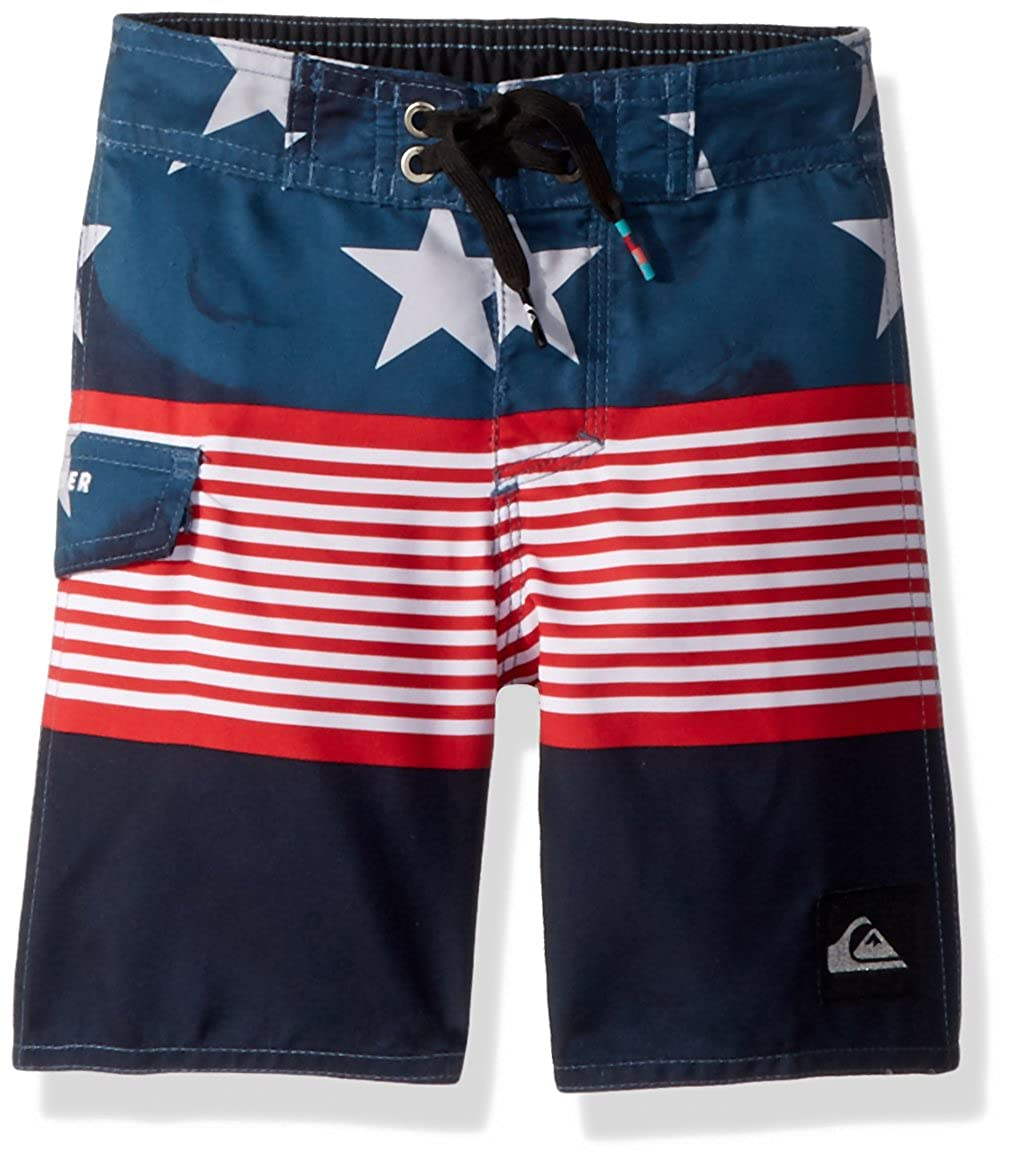 Quiksilver Boys' Little Division Independent Youth Boardshort Swim Trunk