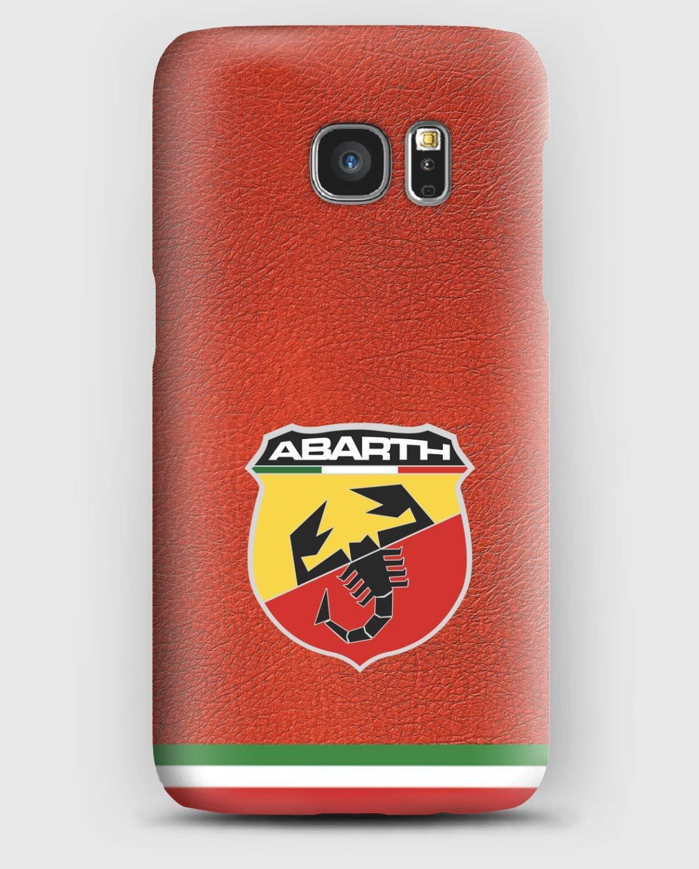 Abarth Sport Funda para el Samsung S6, S7, S8, S9, A3, A5, A7A8, J3, J5, Note 4,5,8,9,
