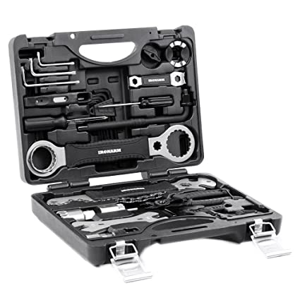 ae268cbcc9c IRONARM Best Value Professional Bicycle Tool Kit Professional Tool Kit.  Good Bicycle Repair Tools