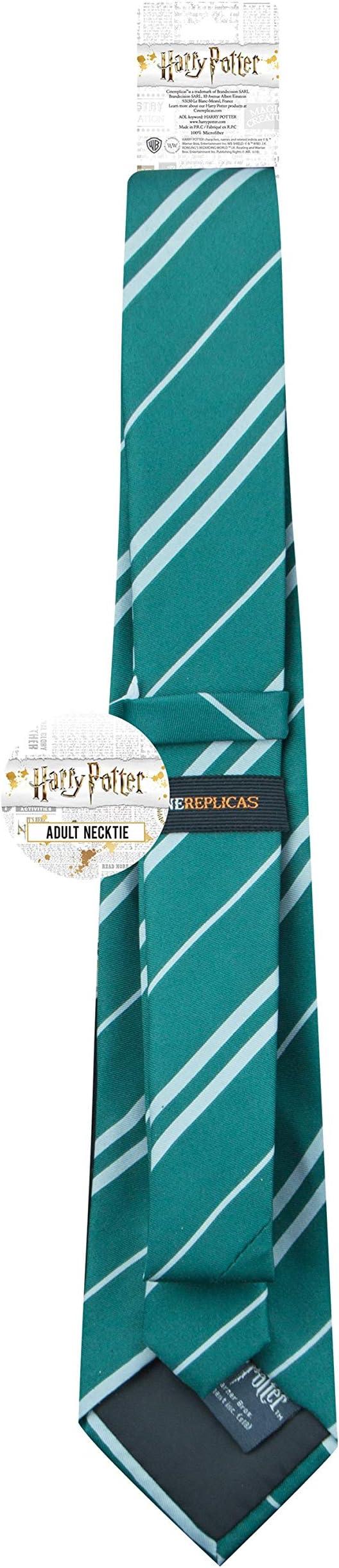 Harry Potter - Corbata Slytherin de seda (accesorio de disfraz ...
