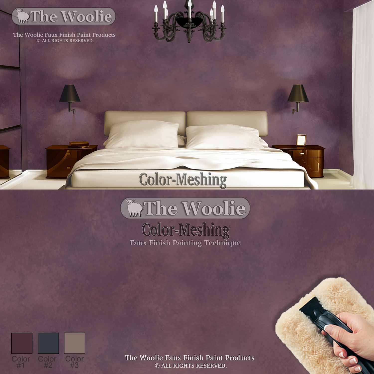 Faux finish painting painting with a twist tomball luxury dragging the woolie little woolie combo faux finish sheepskin paint pad set by the woolie house paint amazoncom with faux finish painting altavistaventures Image collections