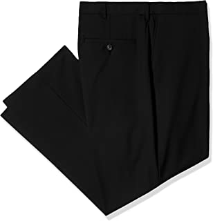 Haggar Mens Tall B/&t Solid Gab Stretch Classic Fit Suit Separate Pant HY90272