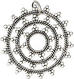 Sterling Silver Large Mandala Charm