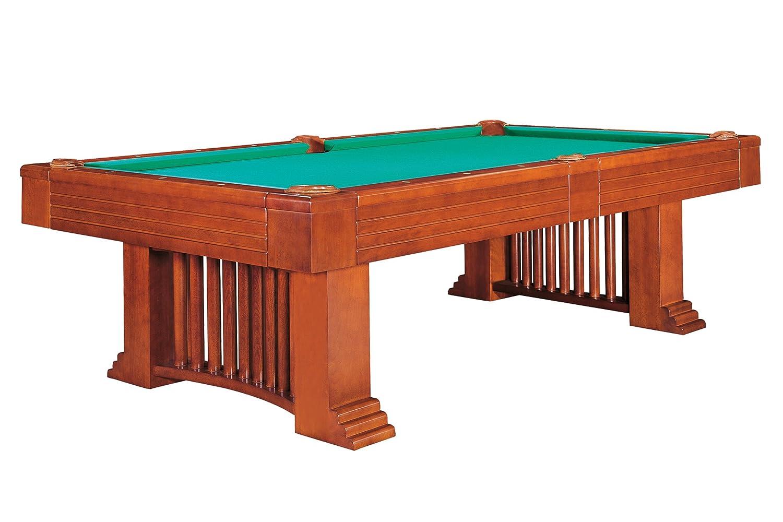 Billardtisch Dynamic Romance, 8 ft. (Fuß), antik-braun, Pool, incl. Abdeckung 8 ft. (Fuß)