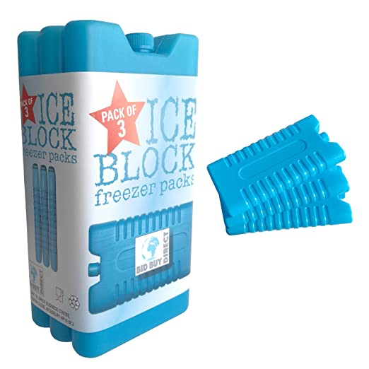 Paquete de 3 bloques de congelador – mantiene su comida o bebidas ...