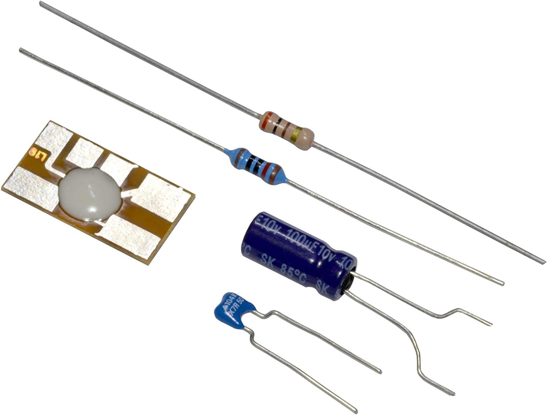 Kemo M079n Lauflicht Bausatz Ausführung Bausatz Baustein Bausatz 3 V Dc 6 V Dc Beleuchtung