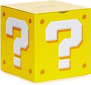 Paladone Nintendo Super Mario Bros. Question Block - Money Box Coin Bank