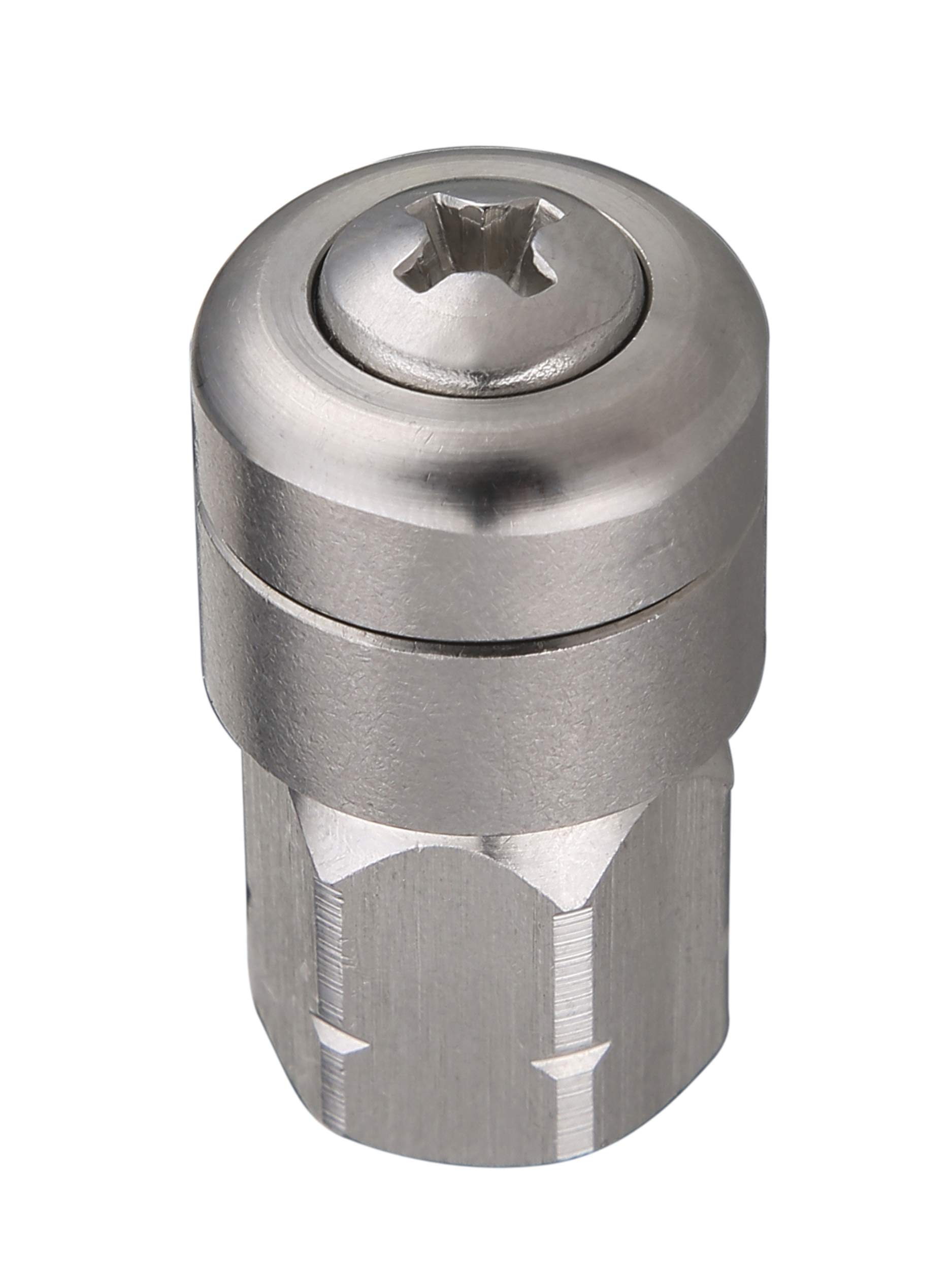 Tool Daily Sewer Jetter Nozzle for Pressure Washer, Rotating, 1/4 Inch Female NPT, 4000 PSI by Tool Daily
