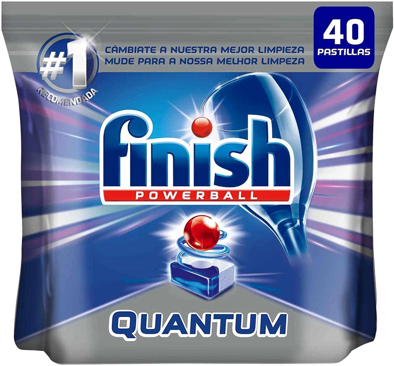 Finish Powerball Quantum, pastillas para el lavavajillas - 40 unidades