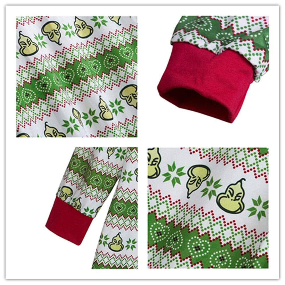 Haodasi Zusammenpassen Weihnachten Schlafanzug Nachtwäsche ...