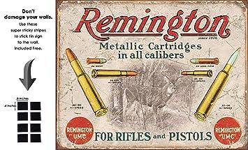 amazon com shop72 remington for rifles pistols tin sign retro