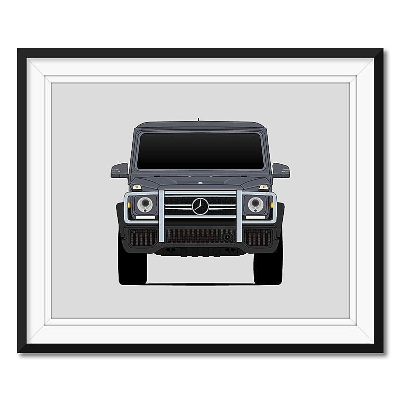 Mercedes-Benz G Class Edition 30 CARS0055 Art Print Poster A4 A3 A2 A1