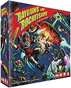 IDW Games Rayguns & Rocketships Board Game