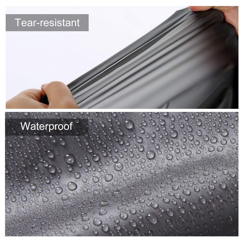 QCKJ Clear EVA Raincoat Women Waterproof Rain Ponchos Long Rainwear Packable Reusable