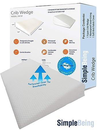 Amazon.com: Simple Being - Almohada universal para cuna para ...