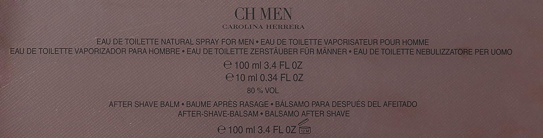 Carolina Herrera - Estuche De Regalo Eau De Toilette Ch Men: Amazon.es: Belleza