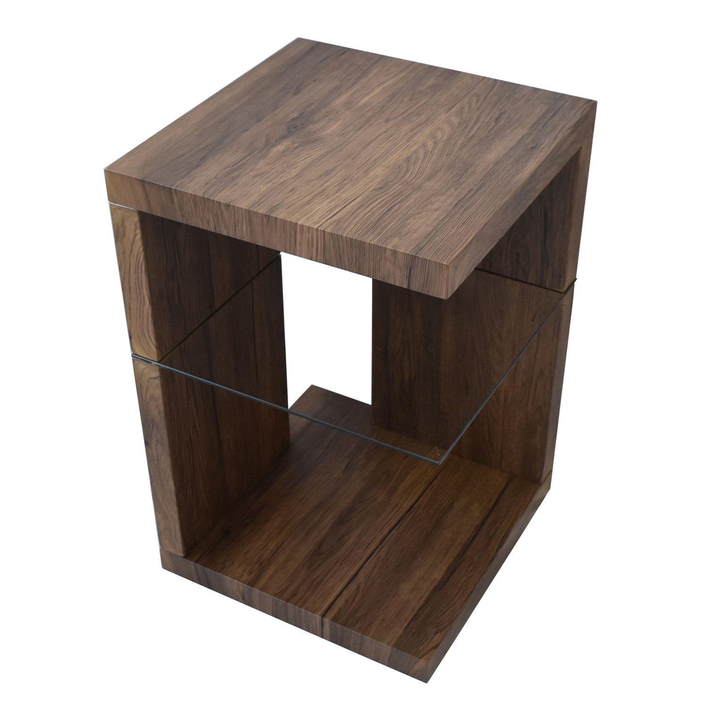 BBファニシング SAND サイドテーブル ブラウン 幅39.6×奥行39.6×高さ60.5cm SNST-39BR SNST-39BR B076P8D69Z ブラウン ブラウン