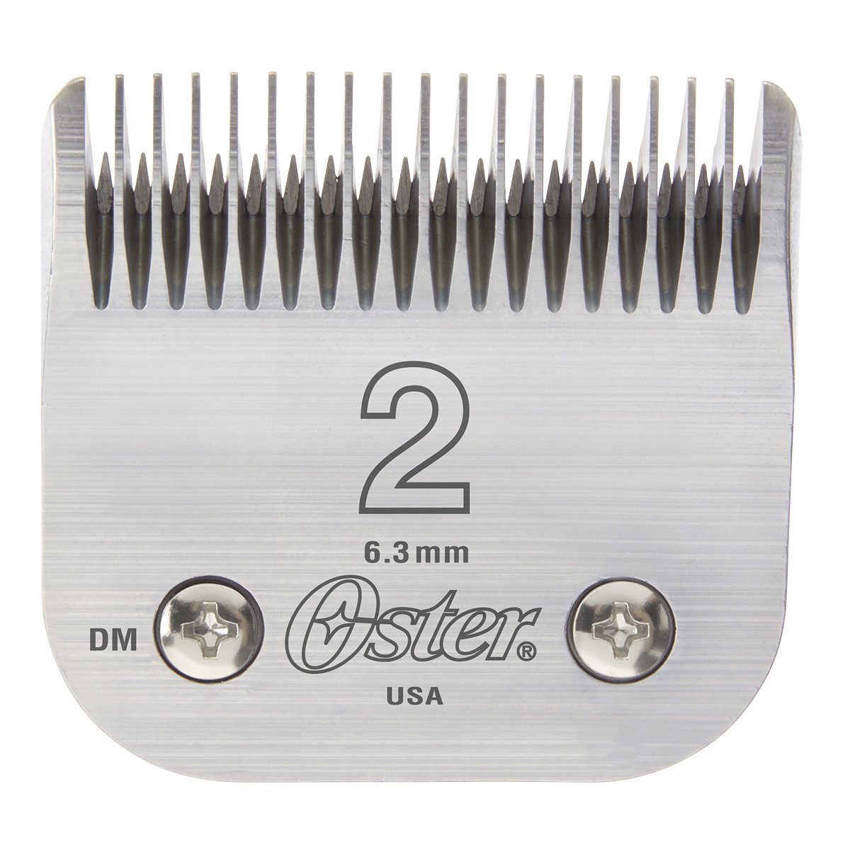Oster Professional 76918-126 Replacement Blade, Classic 76/Star-Teq/Power-Teq Clippers, Size #2, 1/4 (6.3mm) 1/4 (6.3mm) 076918-126-005
