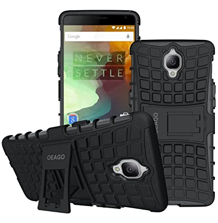Great OnePlus 3T Case, OnePlus 3 Case OEAGO [Shockproof] Tough Rugged Dual Layer  Protective