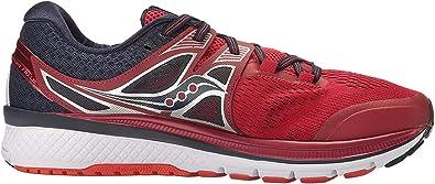 Saucony Triumph ISO 3, Zapatillas de Running para Hombre, Multicolor (Red/Navy), 40.5 EU: Amazon.es: Zapatos y complementos