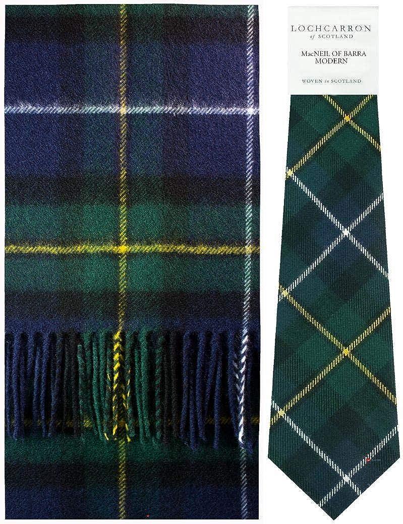 Macneil Of Barra Modern Tartan Ties 100/% Wool