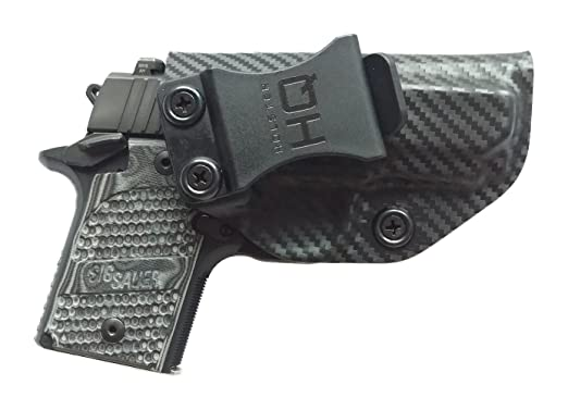Our Top Pick for 2018: IWB Holsters, The Best Inside Waist Band Holster, Sig Sauer P938 1