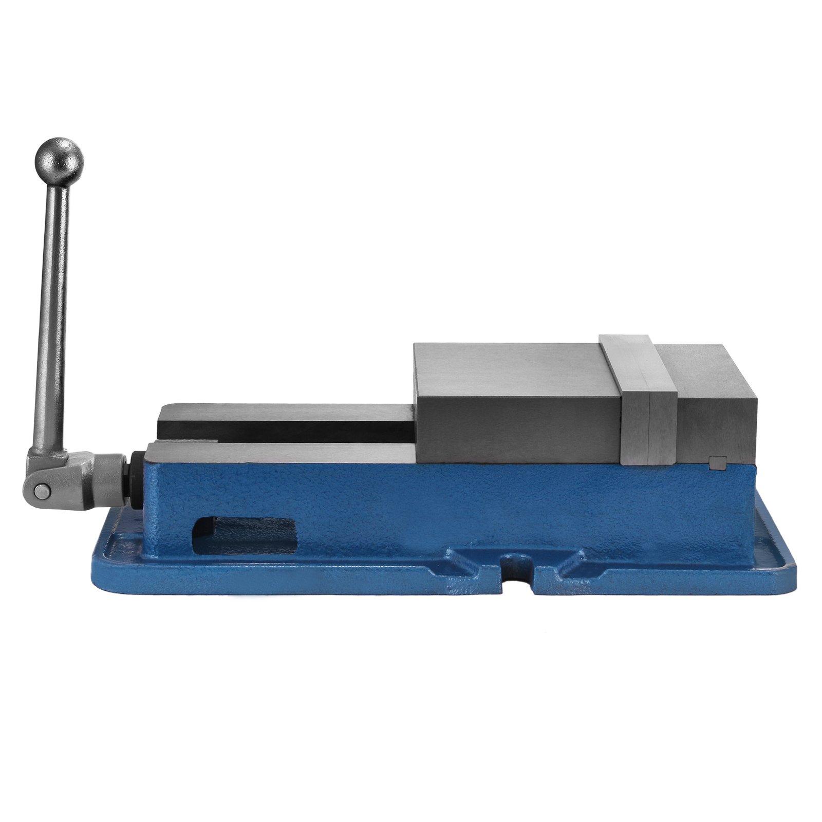 TOTOOL 6'' Precision Milling Machine Vises ACCU Lock Vise Jaw Opening 5.9inch Milling Drilling Machine Lock Down Vise Bench Clamp Multiple Vise Setups (6'' Precision Milling Vise)