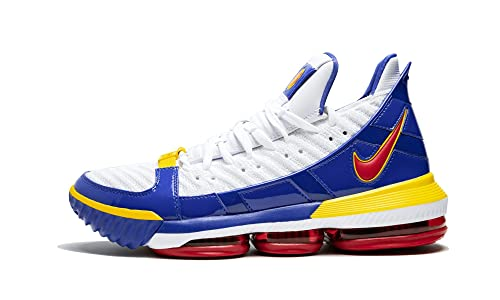 hot sale online 2c733 2f095 Amazon.com | Nike Lebron 16 (White/Varisty Red-Varsity Roya ...