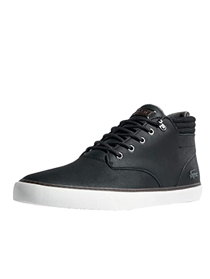 eeb65b891 Lacoste Esparre Winter C 318 CAM Leather High Trainers in Black   Brown  736CAM0022 094  Amazon.co.uk  Shoes   Bags