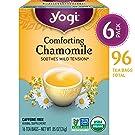 Yogi Tea - Comforting Chamomile - Soothes Mild Tension - 6 Pack, 96 Tea Bags Total