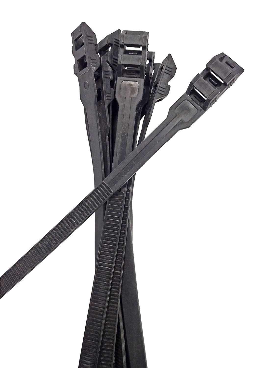 Multicolor Electriduct 500 Pack 7.2 Low Profile Cable Ties